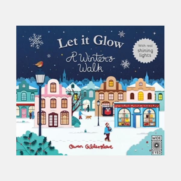 Let It Glow - Light Up Hardback Book
