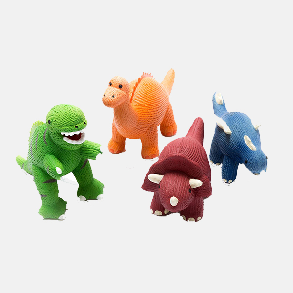 Best Years - Natural Rubber Dinosaur Teether