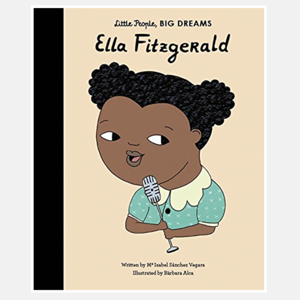 Ella Fitzgerald Little People Big Dreams Hardback