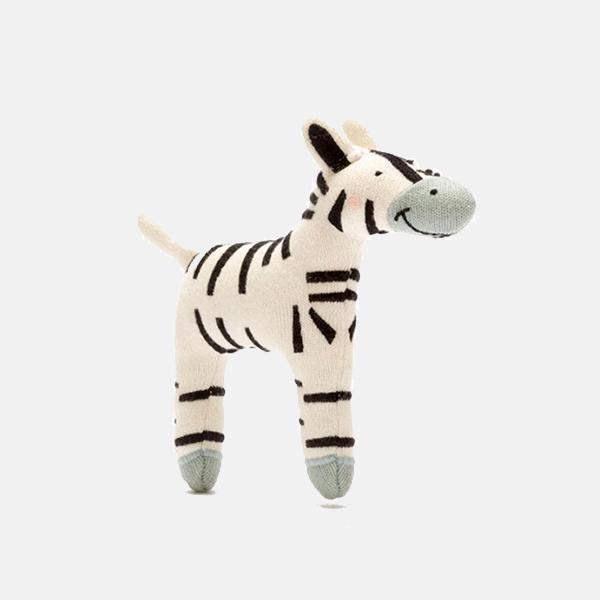Best Years - Organic Cotton Zebra Toy