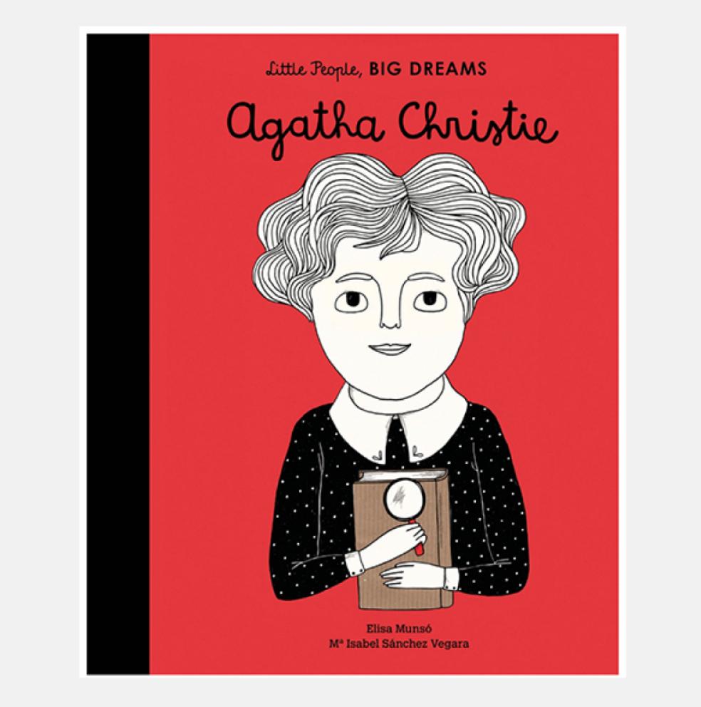 Agatha Christie - Little People Big Dreams Hardback