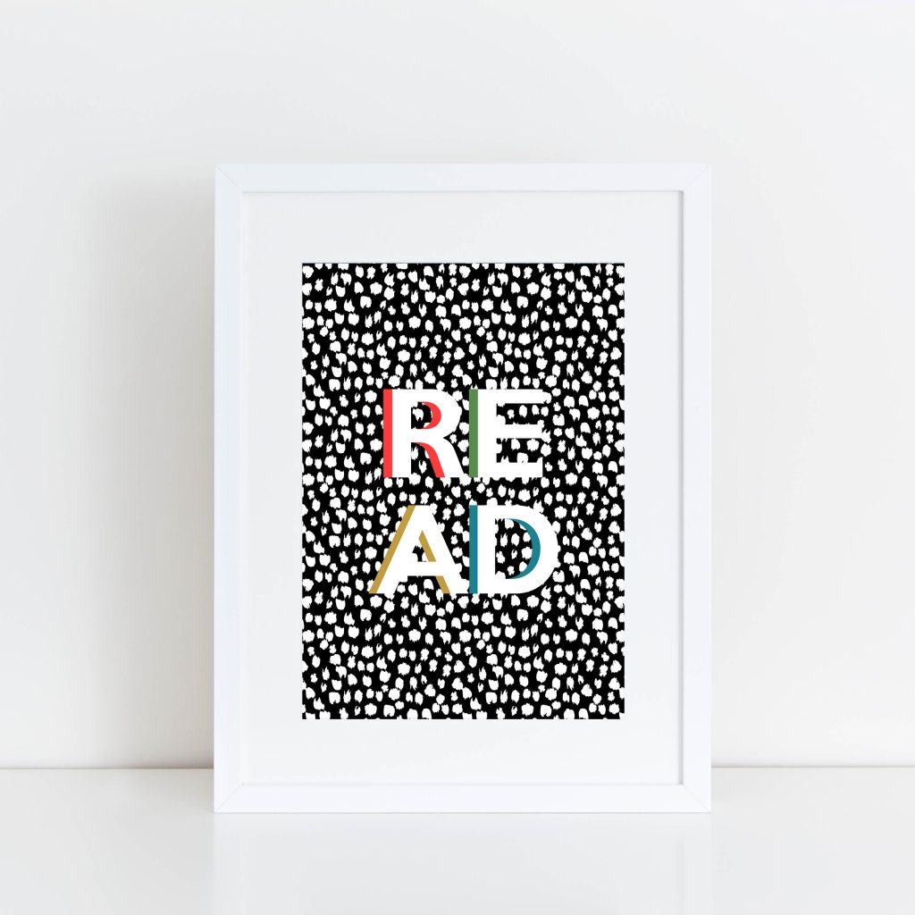Pea And Me - Read Print