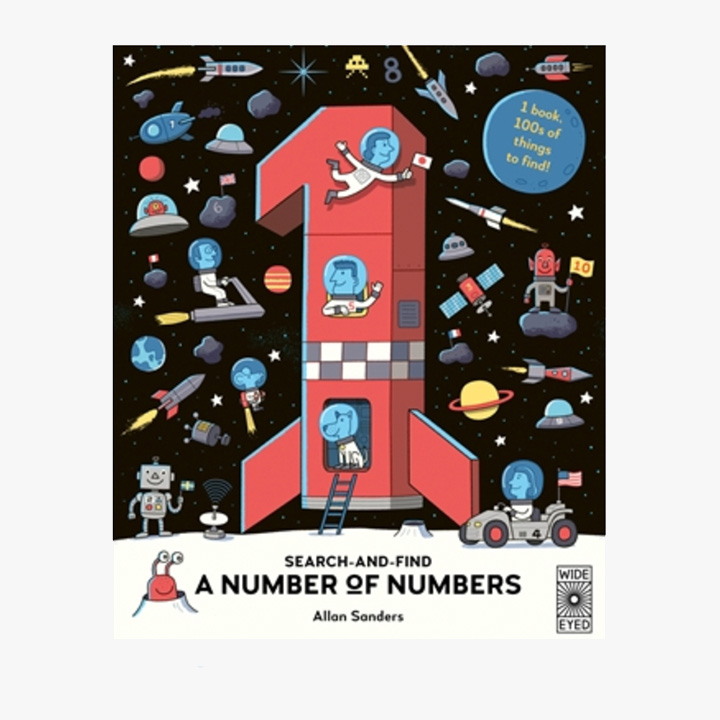 A Number of Numbers - Hardback Book
