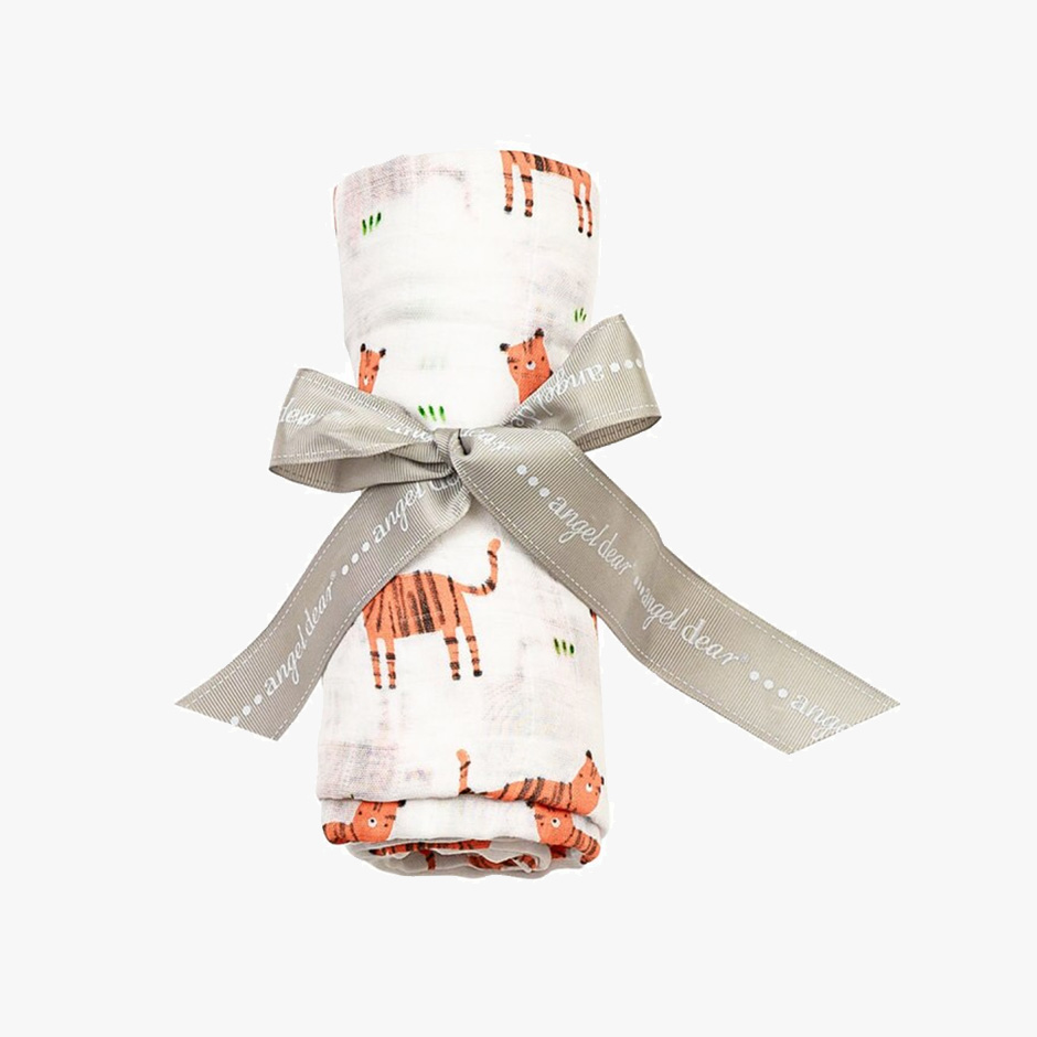 Angel Dear - Tigers Muslin Swaddle Blanket