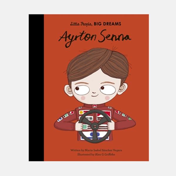 Ayrton Senna - Little People Big Dreams Hardback Book