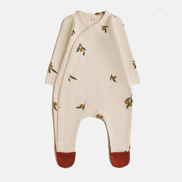 Organic Zoo -  Olive Garden Suit With Contrast Feet