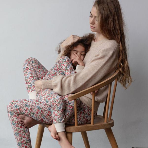 Sleepy Doe - Women's Leggings Winter Floral