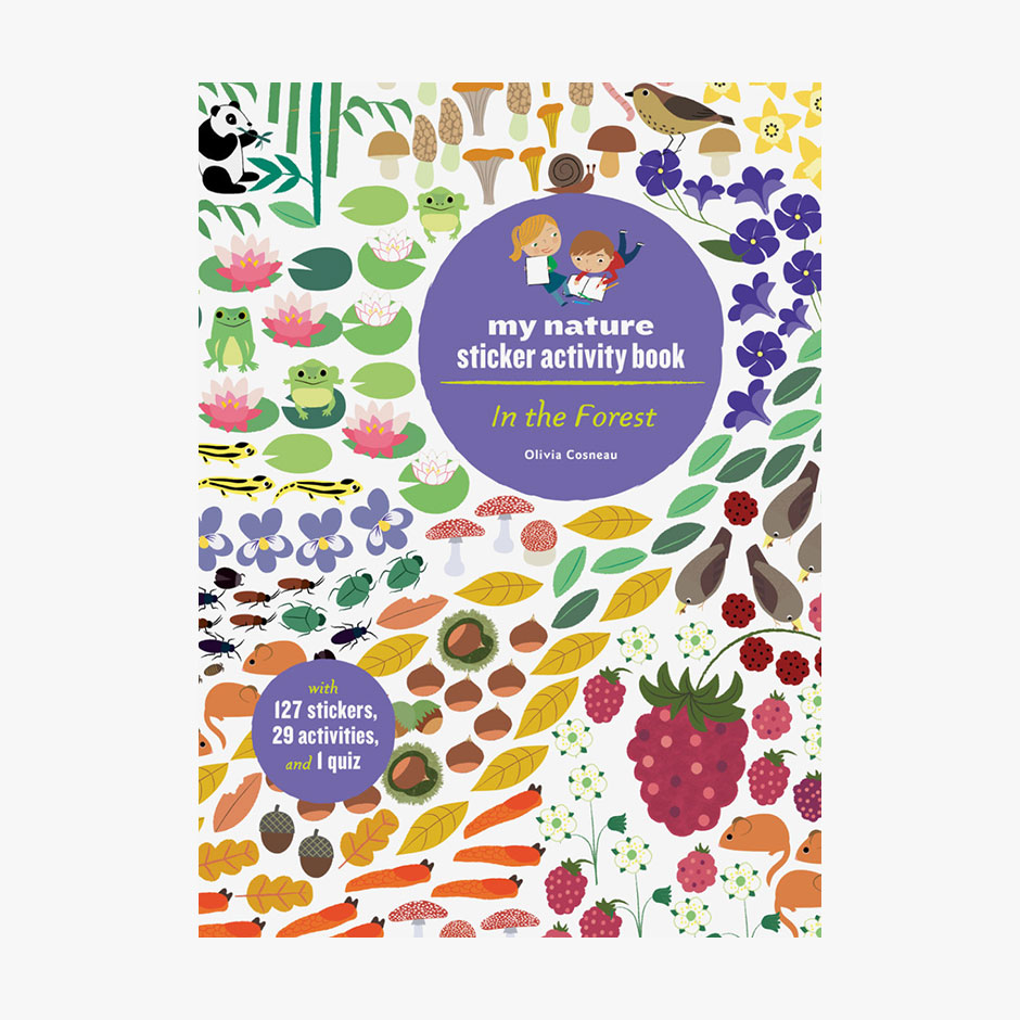 In The Forest - Sticker Activity Book