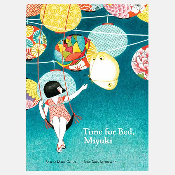 Time For Bed Miyuki - Hardback Book