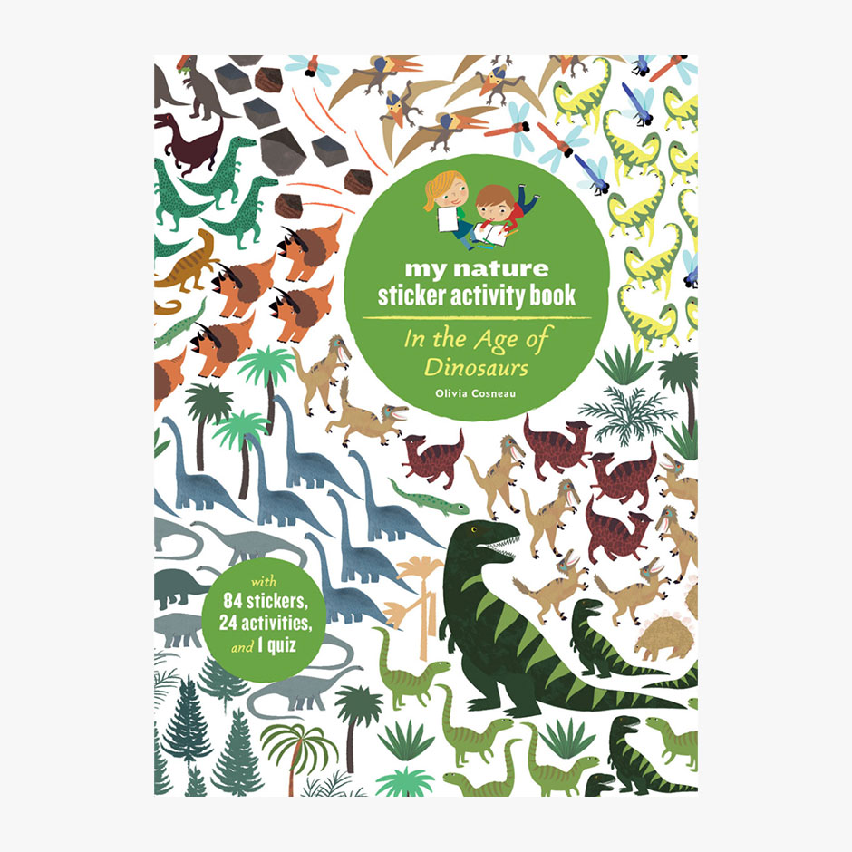 In the Age of Dinosaurs - Sticker Activity Book