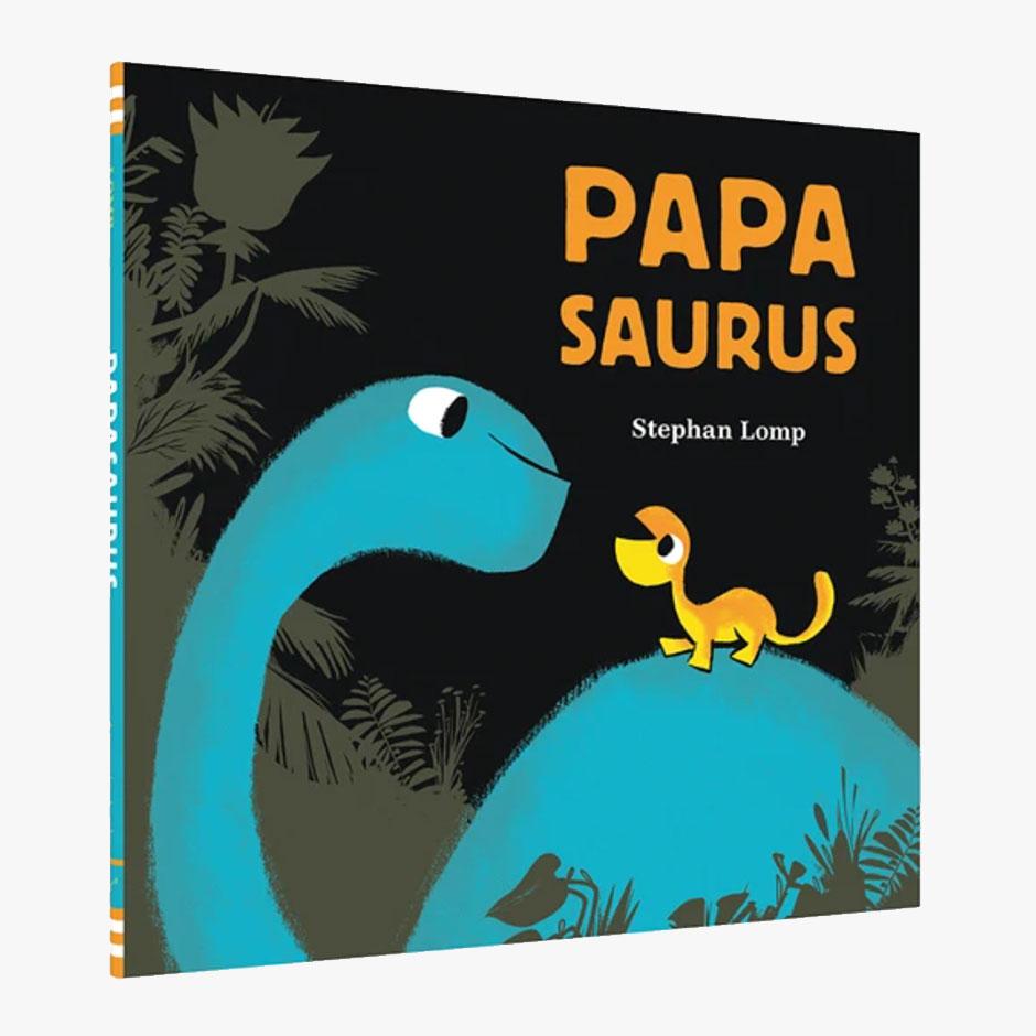 Papasaurus Hardback Book