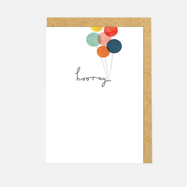Shrew And Co - Hooray Card