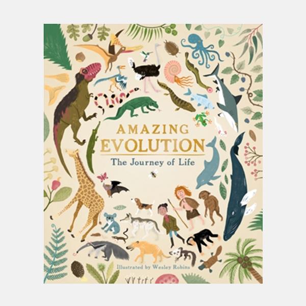 Amazing Evolution - Hardback Book