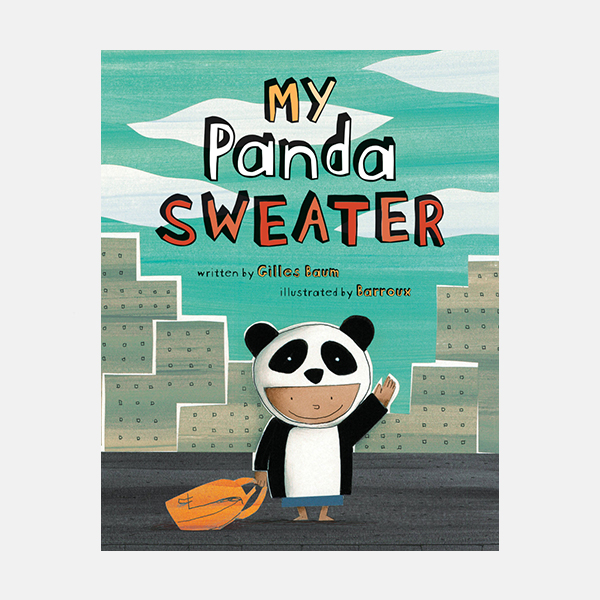 My  Panda Sweater - Paperback Book