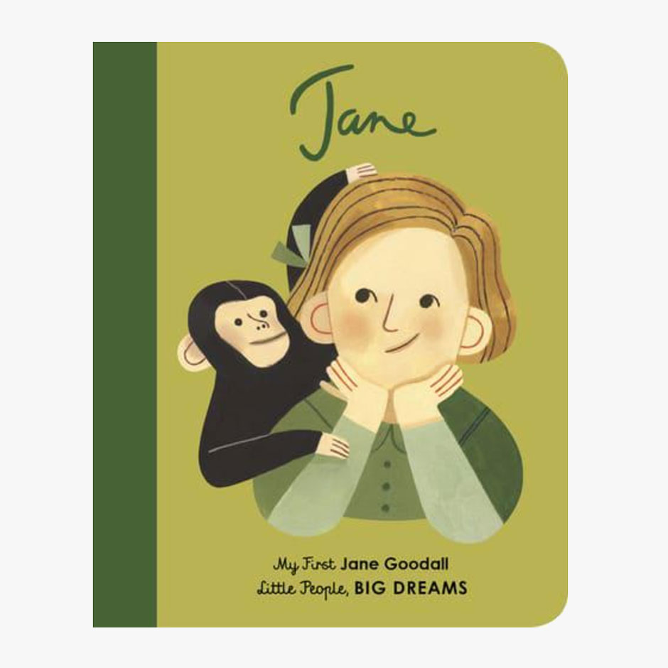 Jane Goodall - Little People Big Dreams Board Book