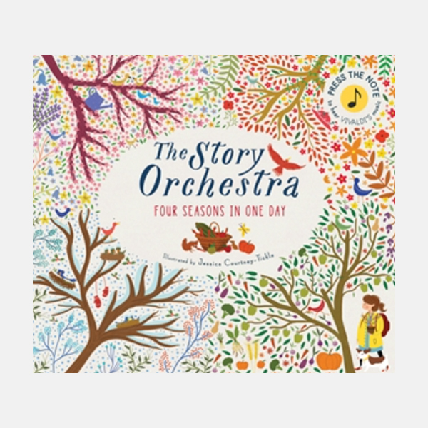 The Story Orchestra: Four Seasons - Hardback Book