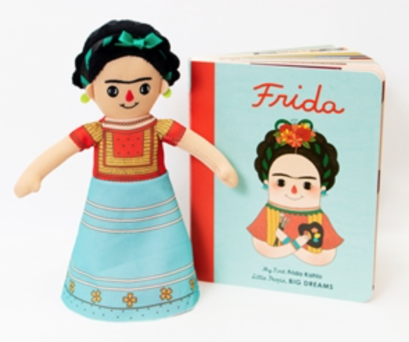 Frida Kahlo - Board Book And Doll Set