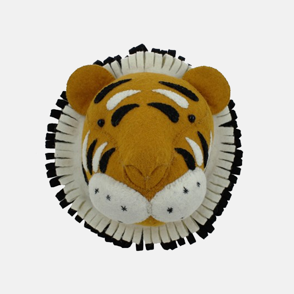 Fiona Walker - MIni Tiger Head