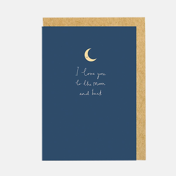Shrew And Co - Moon And Back Card