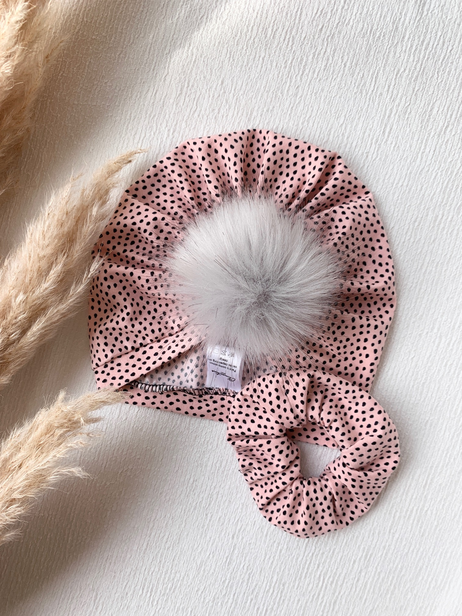 Clementina Baby - Pink Dot Scrunchie