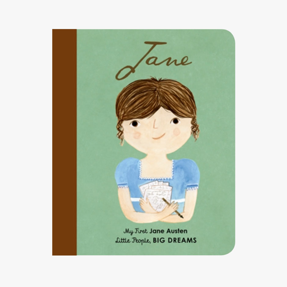 Jane Austen - Little People Big Dreams Board Book