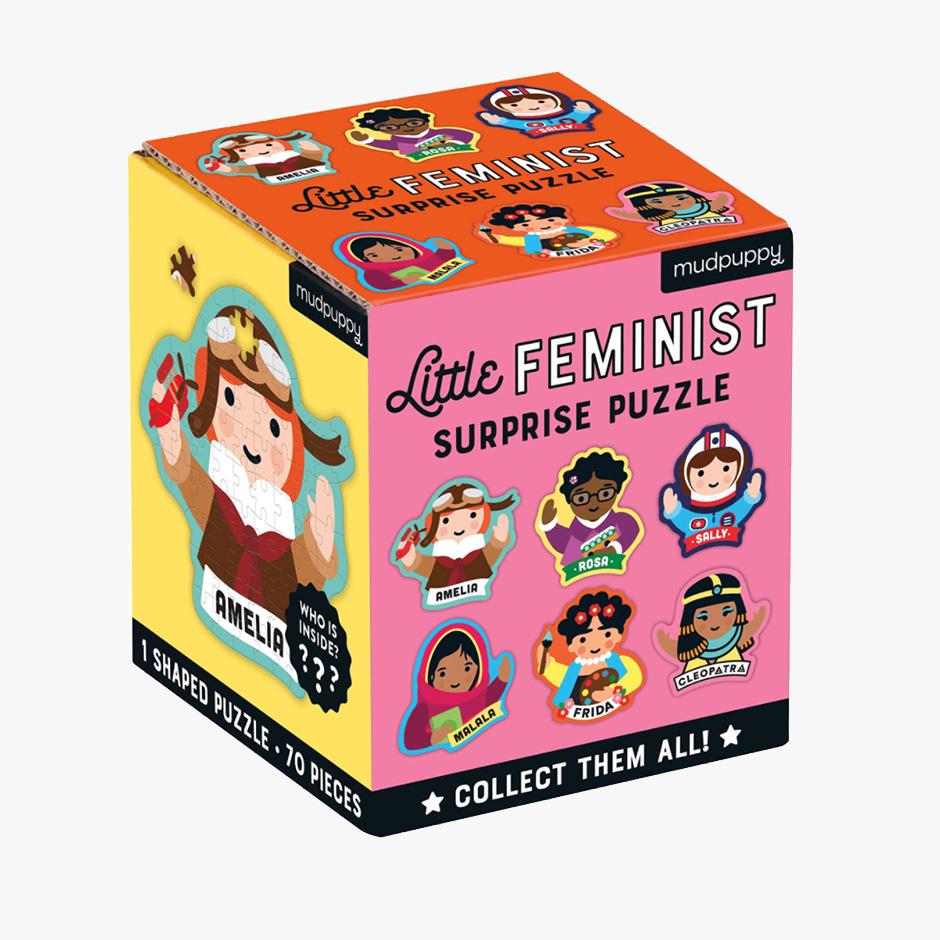 MudPuppy - Little Feminist Surprise Puzzle