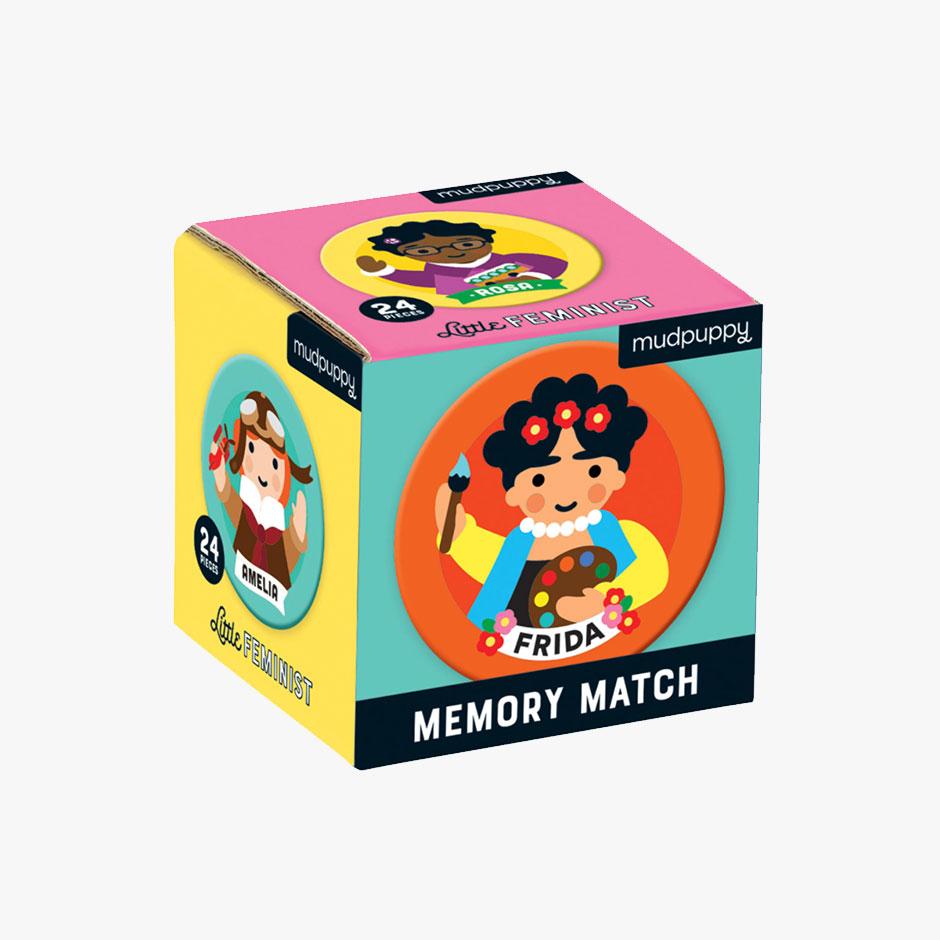 MudPuppy - Little Feminist Mini Memory Match