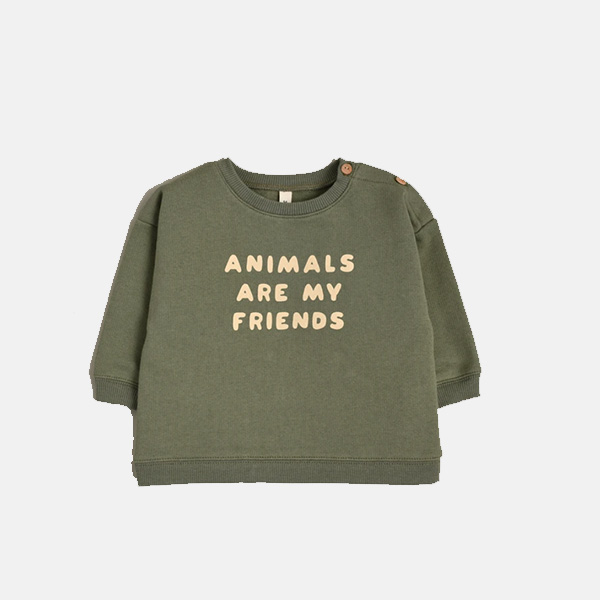 Organic Zoo - Animals Are My Friends Sweatshirt