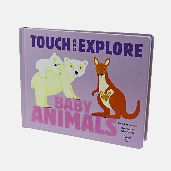 Touch And Explore Baby Animals - Board Book