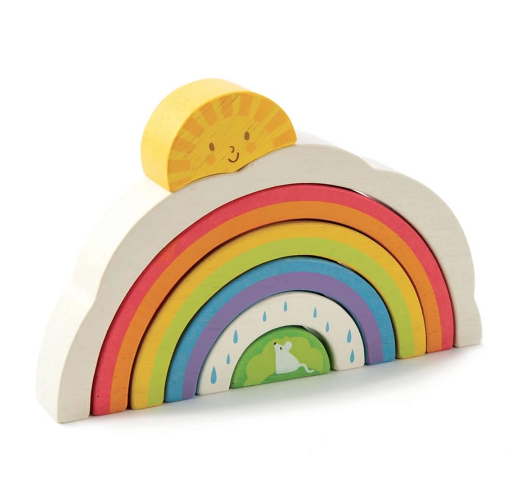 Tender Leaf Toys - Rainbow Tunnel