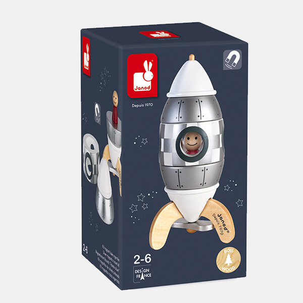 Janod - Silver Rocket Kit