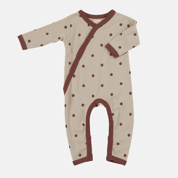 Pigeon Organic -Spot Rompers (0-3 months only)