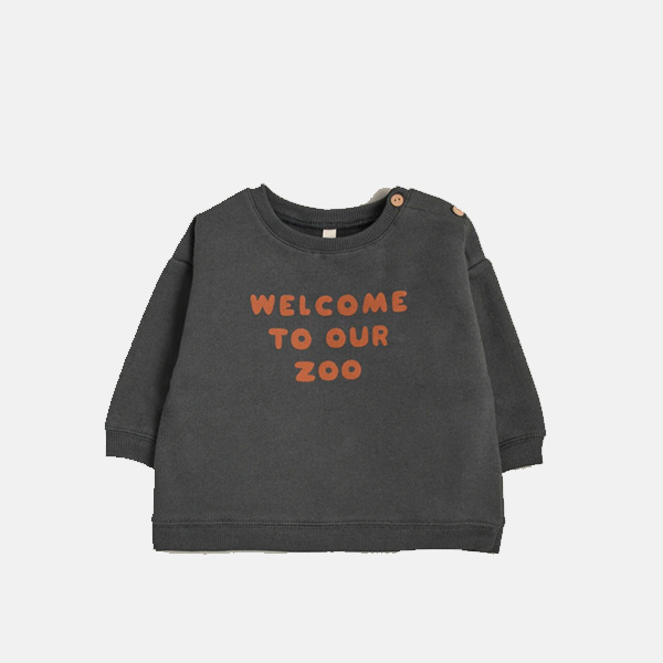 Organic Zoo - Welcome To Our Zoo Sweatshirt