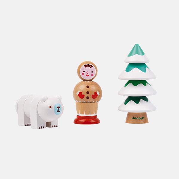 Janod - Arctic Screw Toy