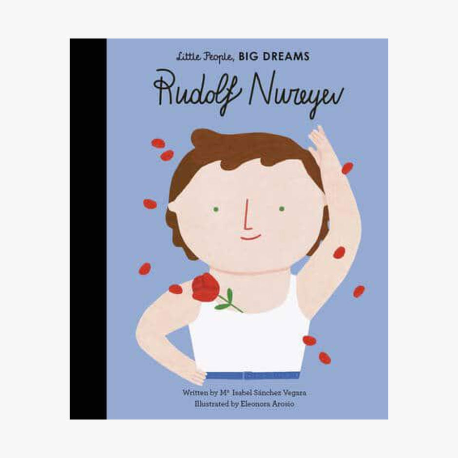Rudolf Nureyev - Little People Big Dreams Hardback Book