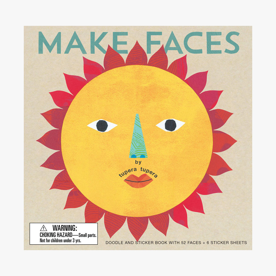 Make Faces - Doodle and Sticker Book