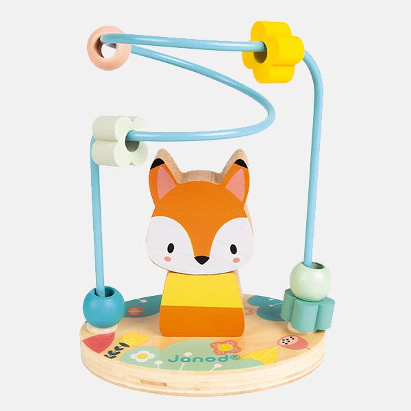 Janod - Fox Bead Maze