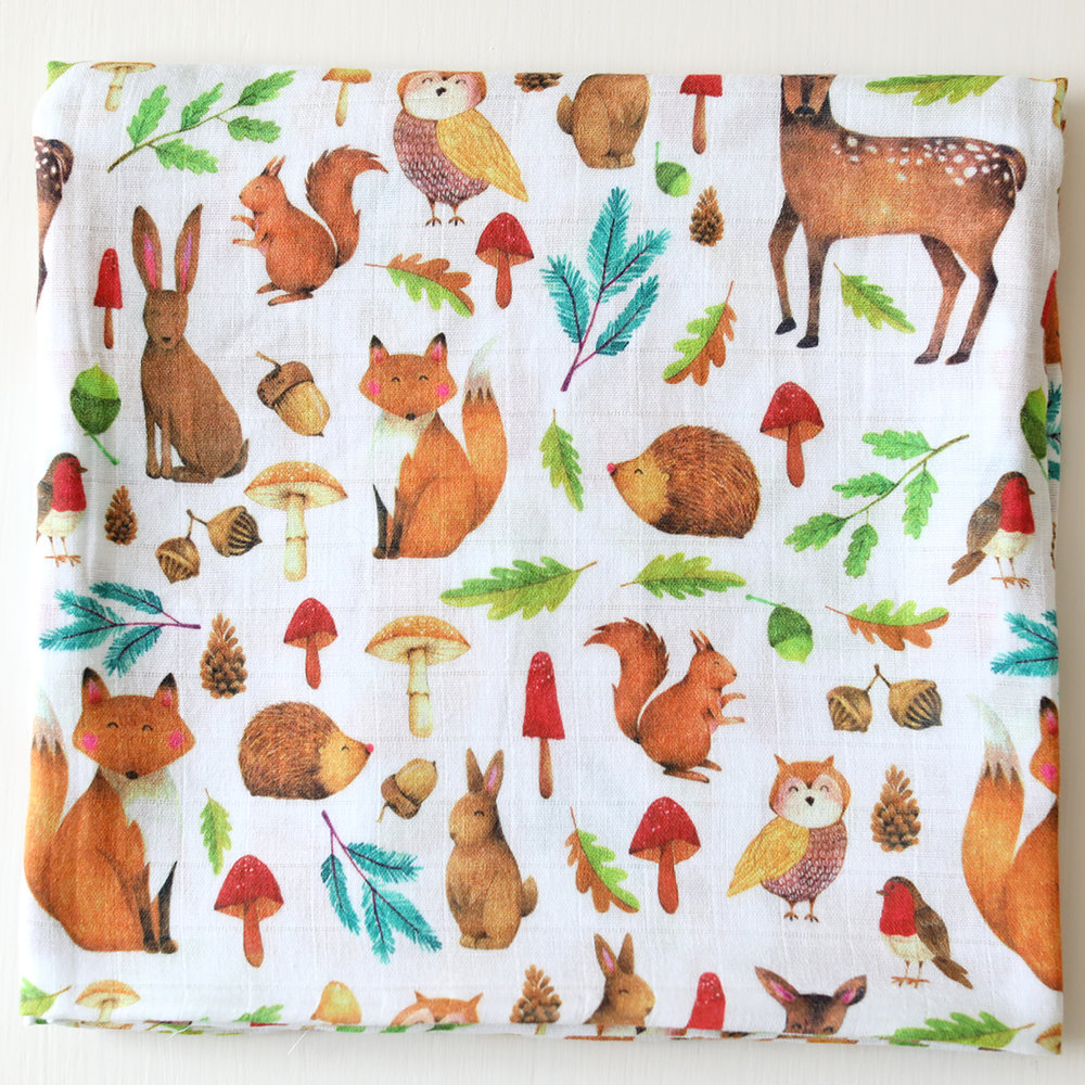 Woodland Swaddle - Fox in the Attic
