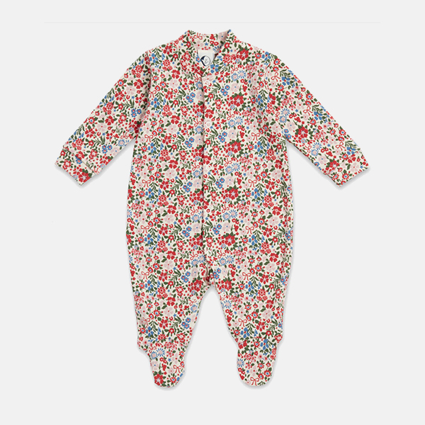 Sleepy Doe - Baby Sleepsuit Winter Floral