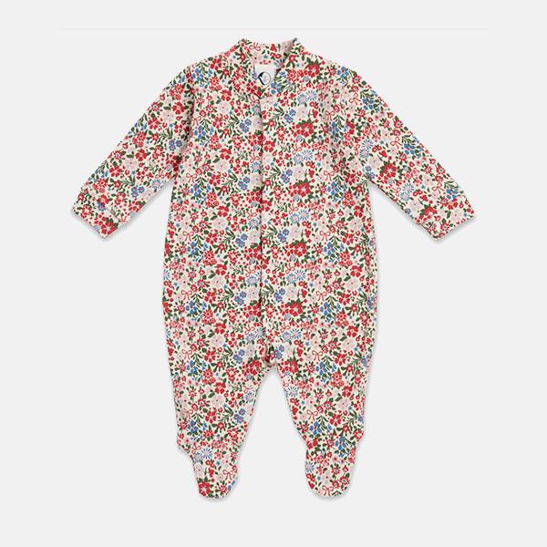 Sleepy Doe - Baby Sleepsuit Winter Floral