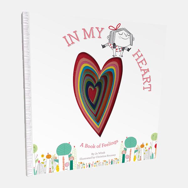 In My Heart - Hardback Book