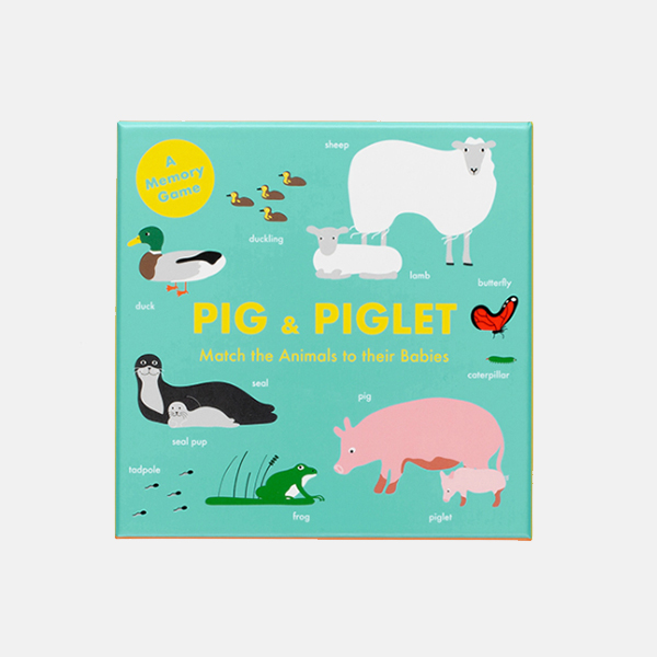 Pig And Piglet - Matching Game