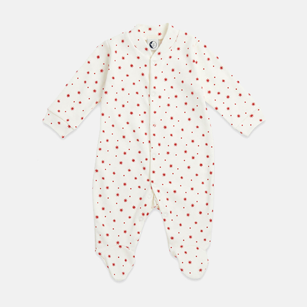 Sleepy Doe - Baby Sleepsuit Winter Star