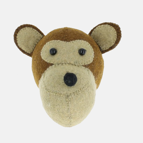 Fiona Walker - Mini Monkey Head
