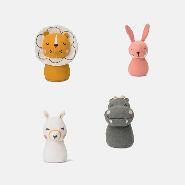 Picca LouLou - Mini Rattles (4 designs)