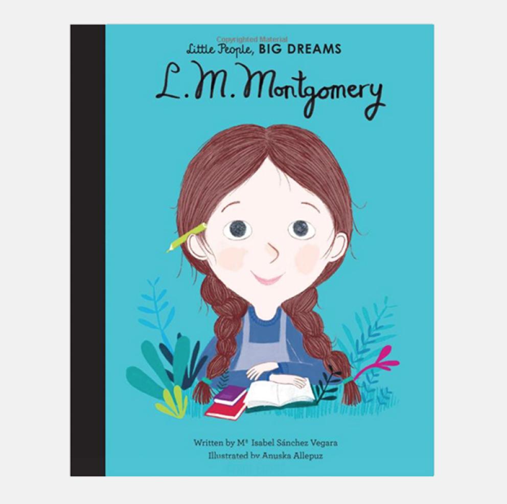 L.M. Montgomery Little People Big Dreams Hardback