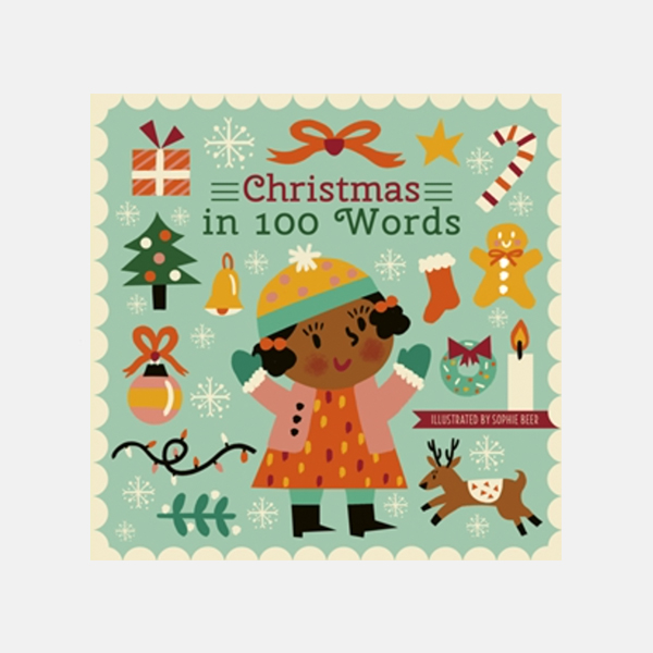 Christmas in 100 Words - Board Book