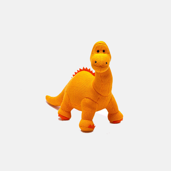 Best Years - Orange Diplodocus Rattle