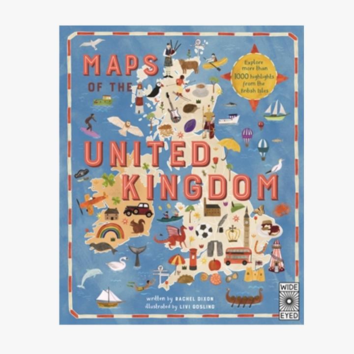 Maps of the UK - Hardback Book