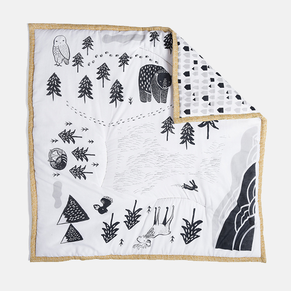 Wee Gallery - Organic Cotton Play Mat